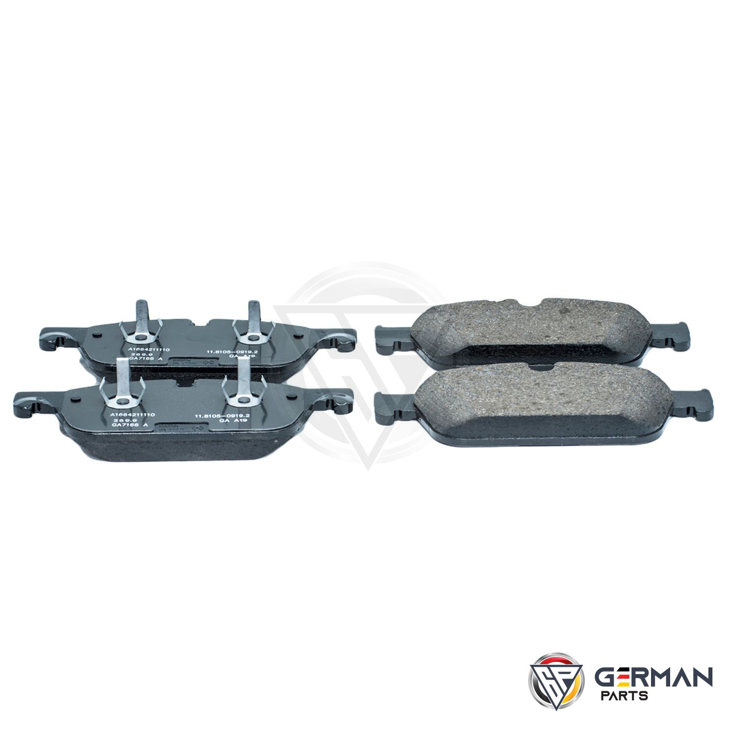 Buy Mercedes Benz Front Brake Pad Set 0074207920 - German Parts