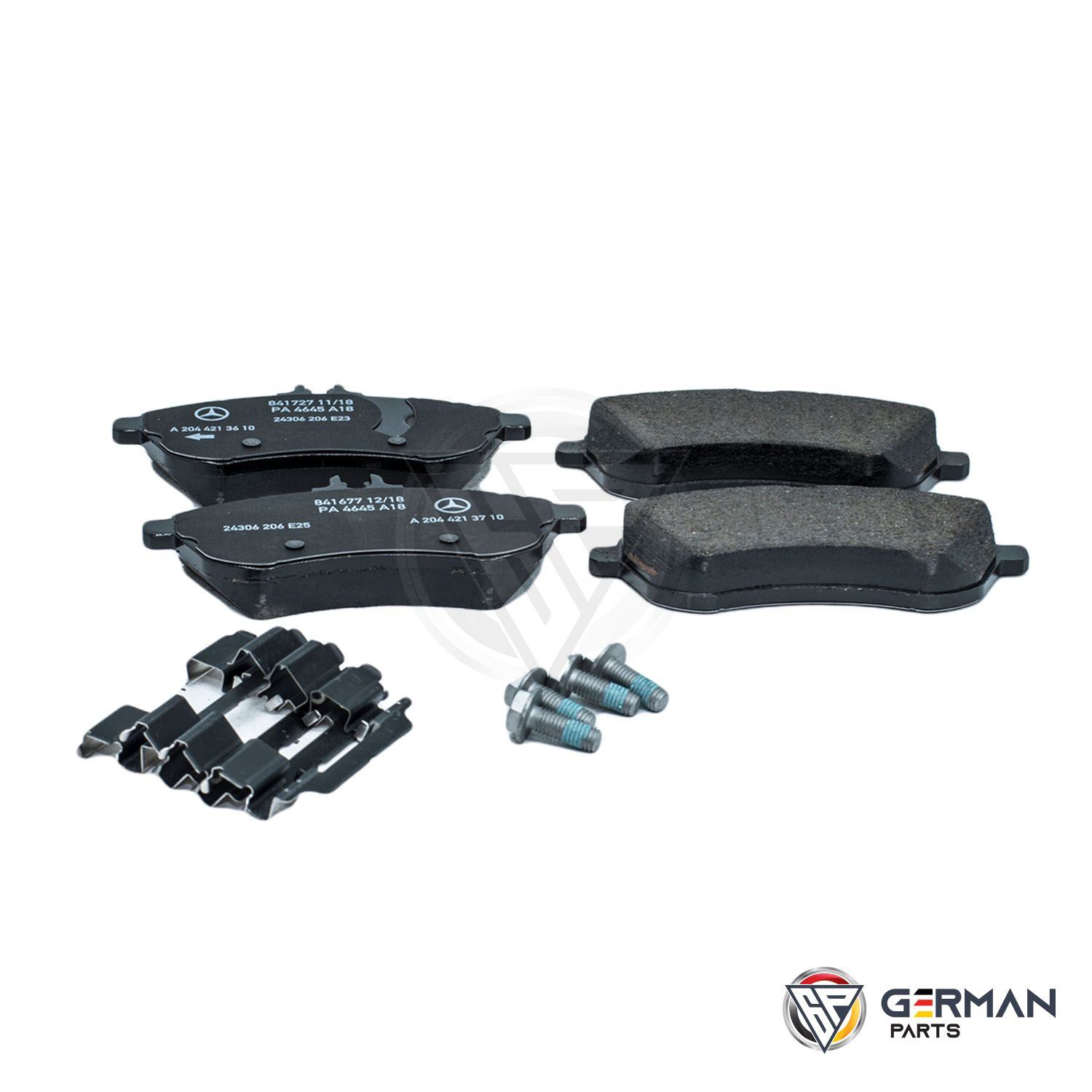 Buy Genuine Mercedes Benz Front Brake Pad Set 0074209220 - German Parts