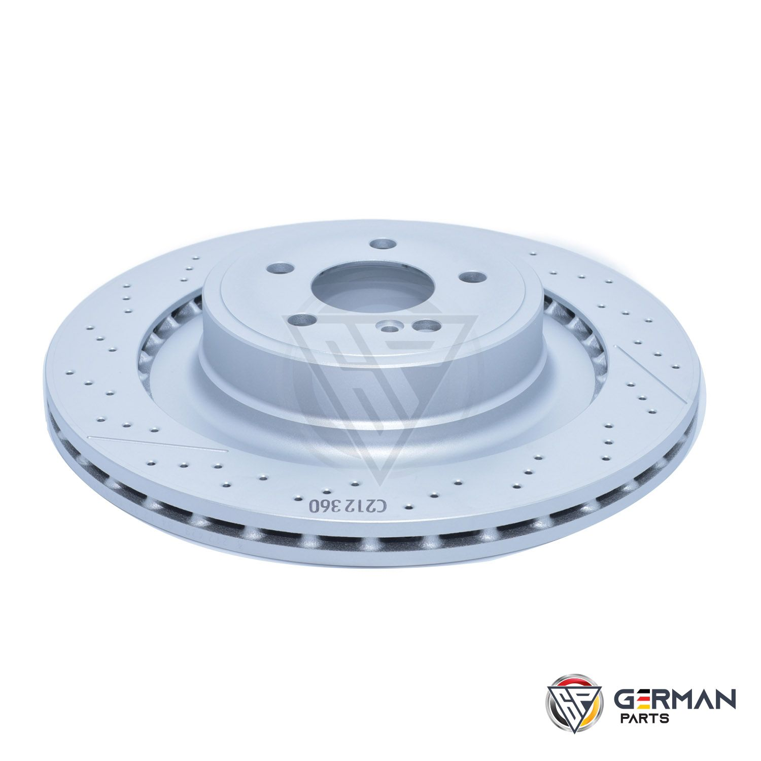 Buy Mercedes Benz Rear Brake Disc 2124230412 - German Parts