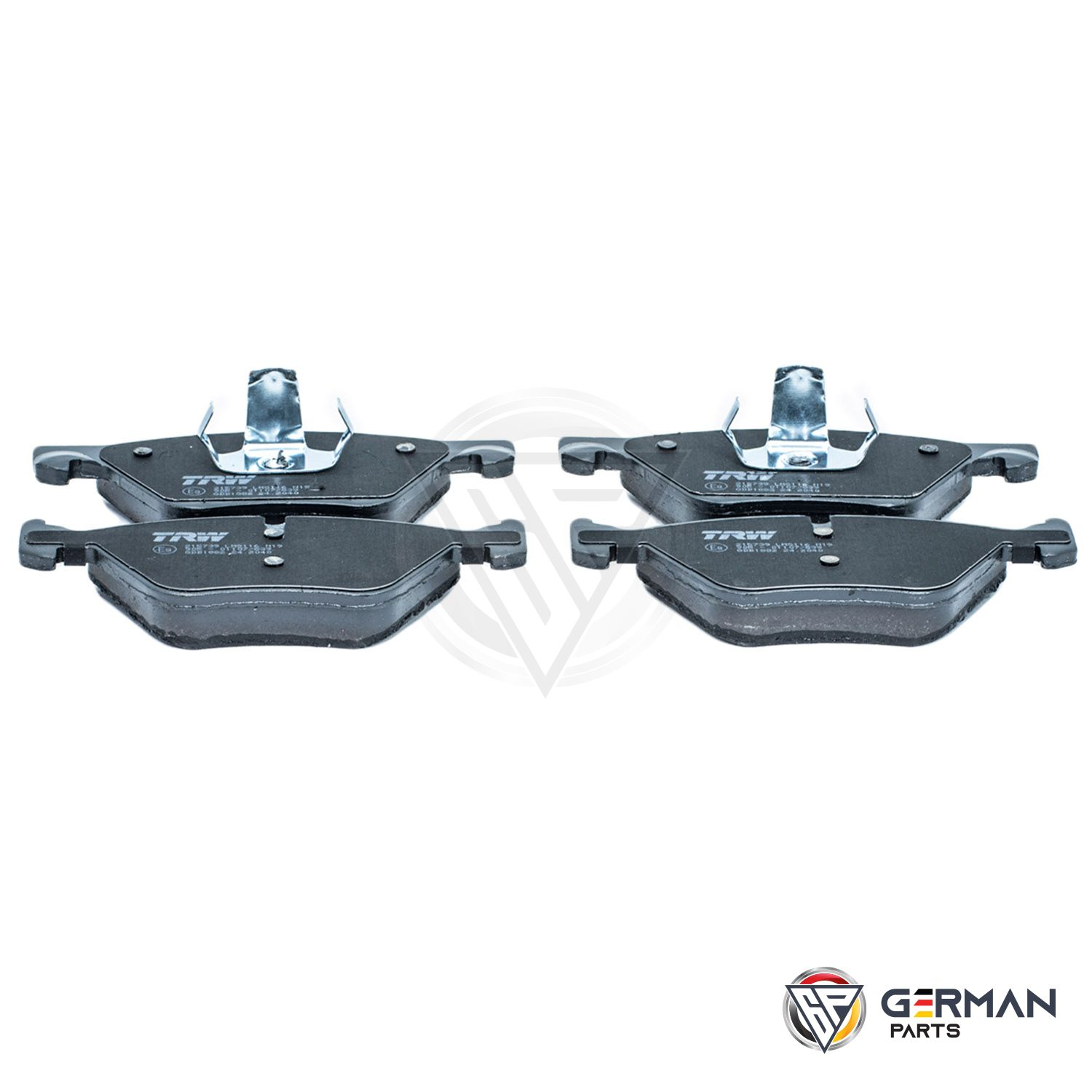 Buy TRW Front Brake Pad Set 34116858047 - German Parts