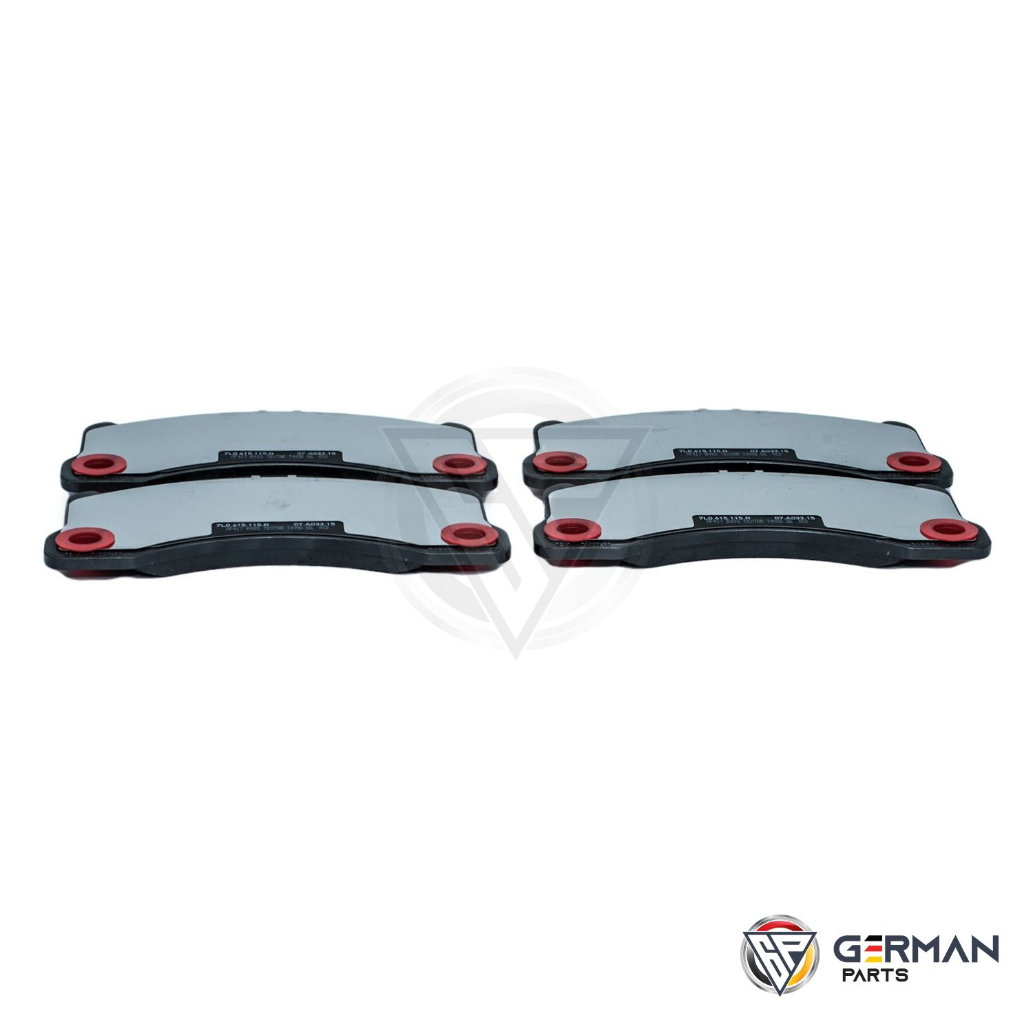 Buy Audi Volkswagen Front Brake Pad Set 7L0698151M - German Parts