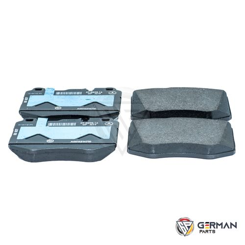 Buy Genuine Mercedes Benz Front Brake Pad Set 0084201820 - German Parts