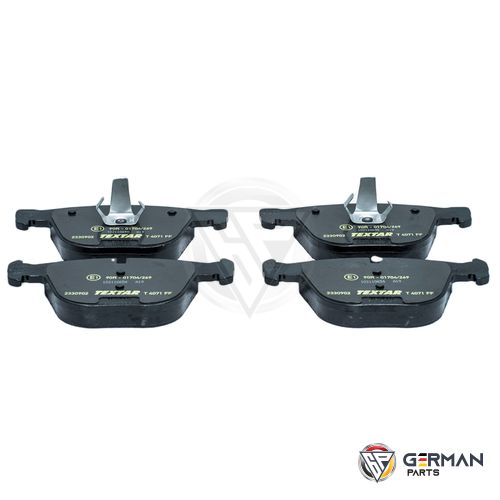 Buy Textar Rear Brake Pad Set 34216768471 - German Parts