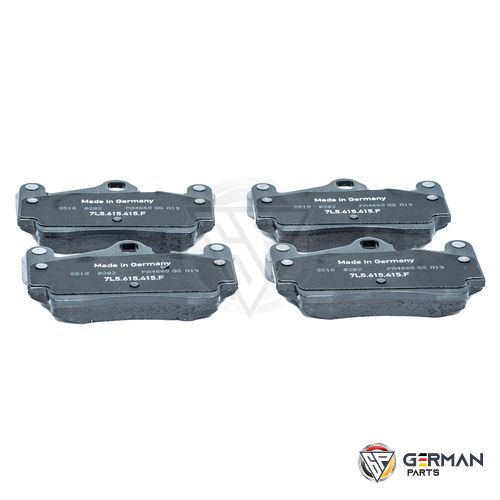 Buy Audi Volkswagen Rear Brake Pad Set 7L0698451A - German Parts